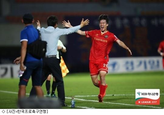 '고명석 멀티골' 부천, 안양 원정서 짜릿한 역전승