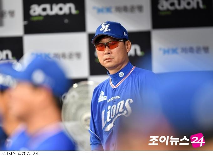 """김한수 감독 """"강민호, 20홈런 이상 기대해"""""""